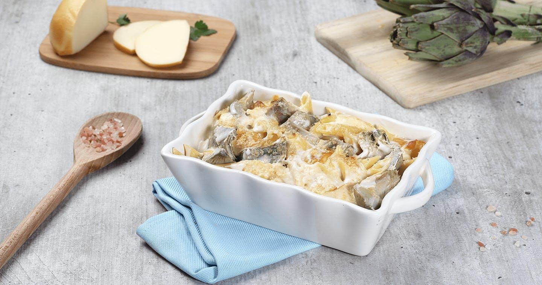 Pasta al forno con carciofi - Parmalat