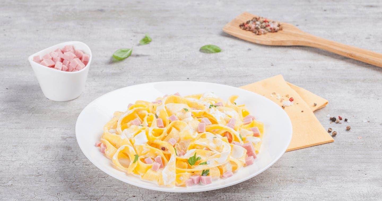 Tagliatelle panna e prosciutto - Parmalat