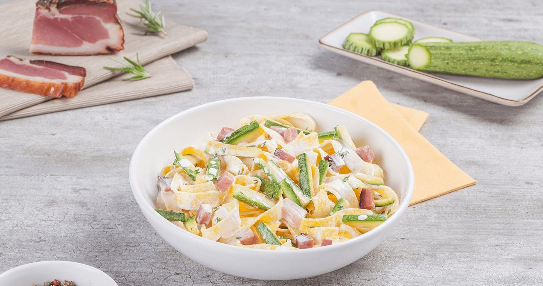 Tagliatelle speck e zucchine - Parmalat