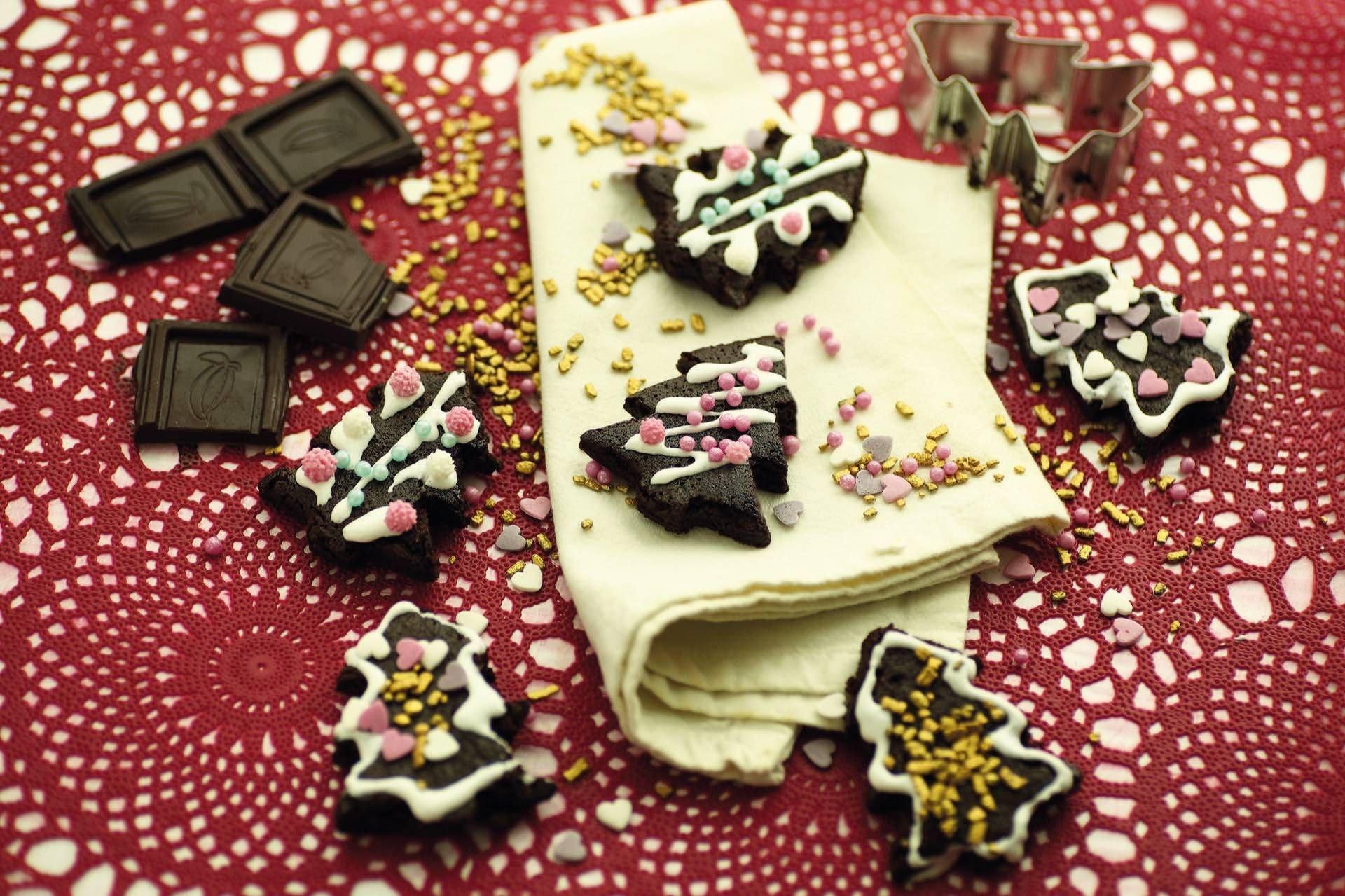 Alberelli di brownies - Parmalat