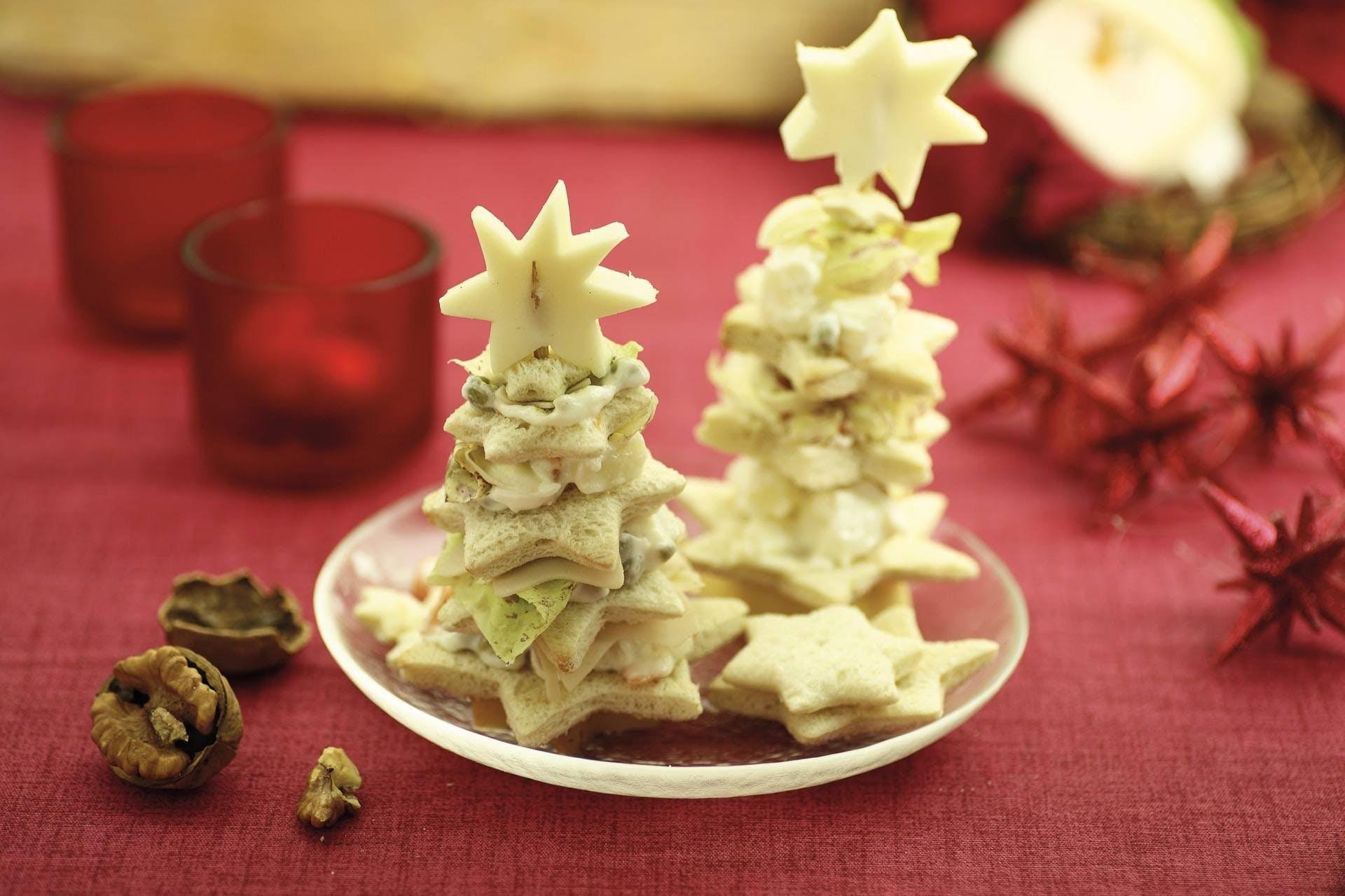 Antipasti Alberelli Di Natale.Ricetta Alberelli Di Pancarre Chef