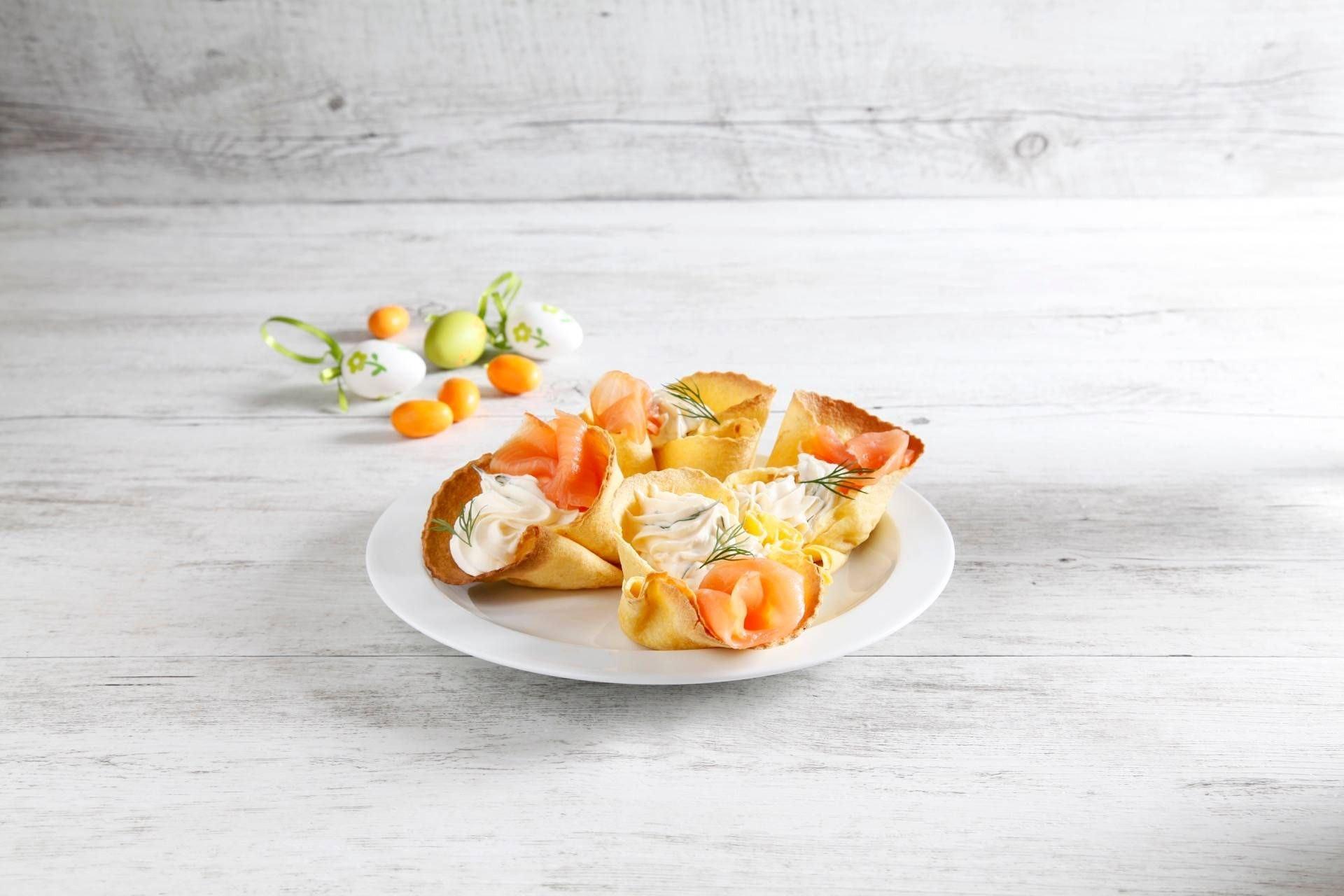 Ciotoline di Tortillas al Salmone Affumicato - Parmalat