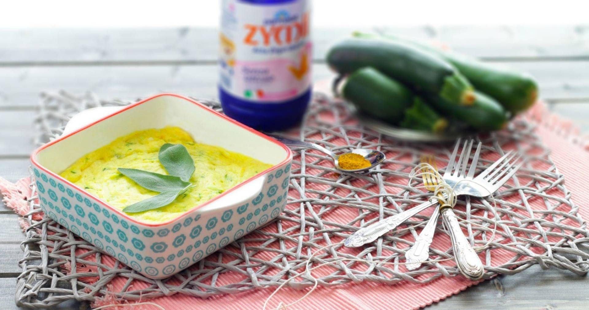 Cake salata alle zucchine e curry - Parmalat
