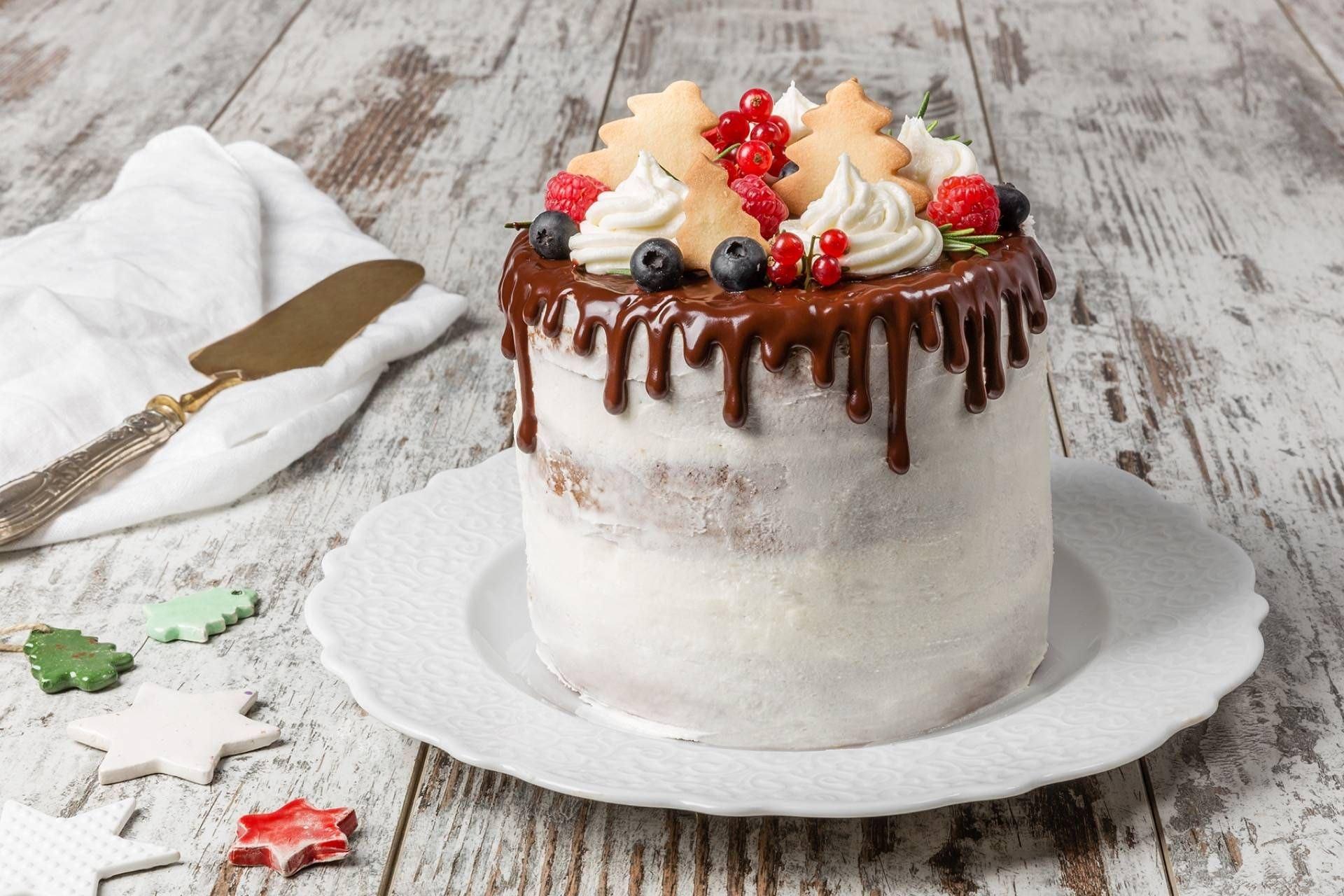 Dripping Cake di Natale - Parmalat