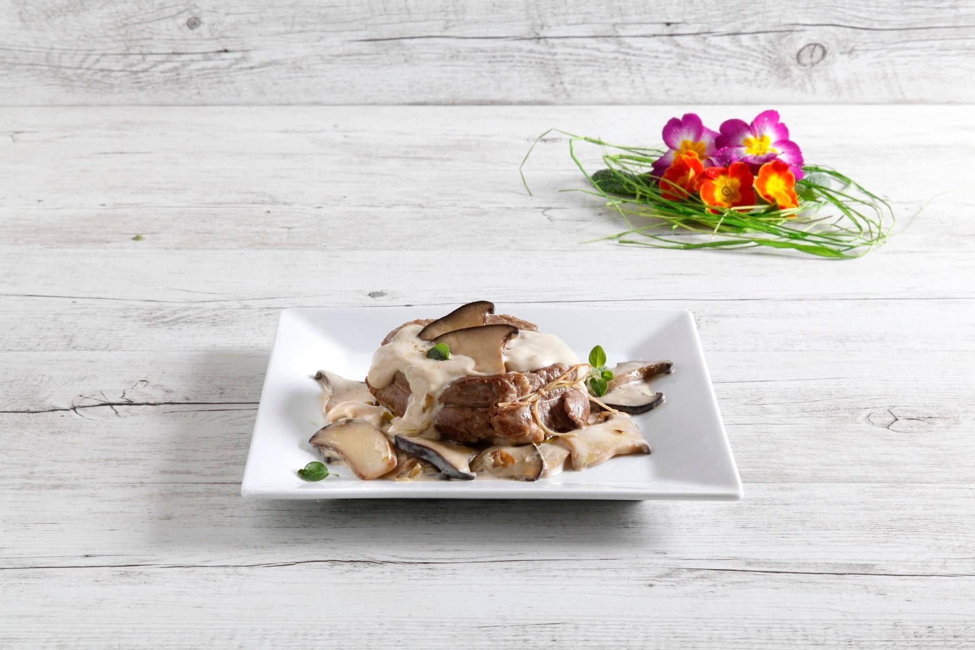 Filetto in crema di funghi con origano - Parmalat