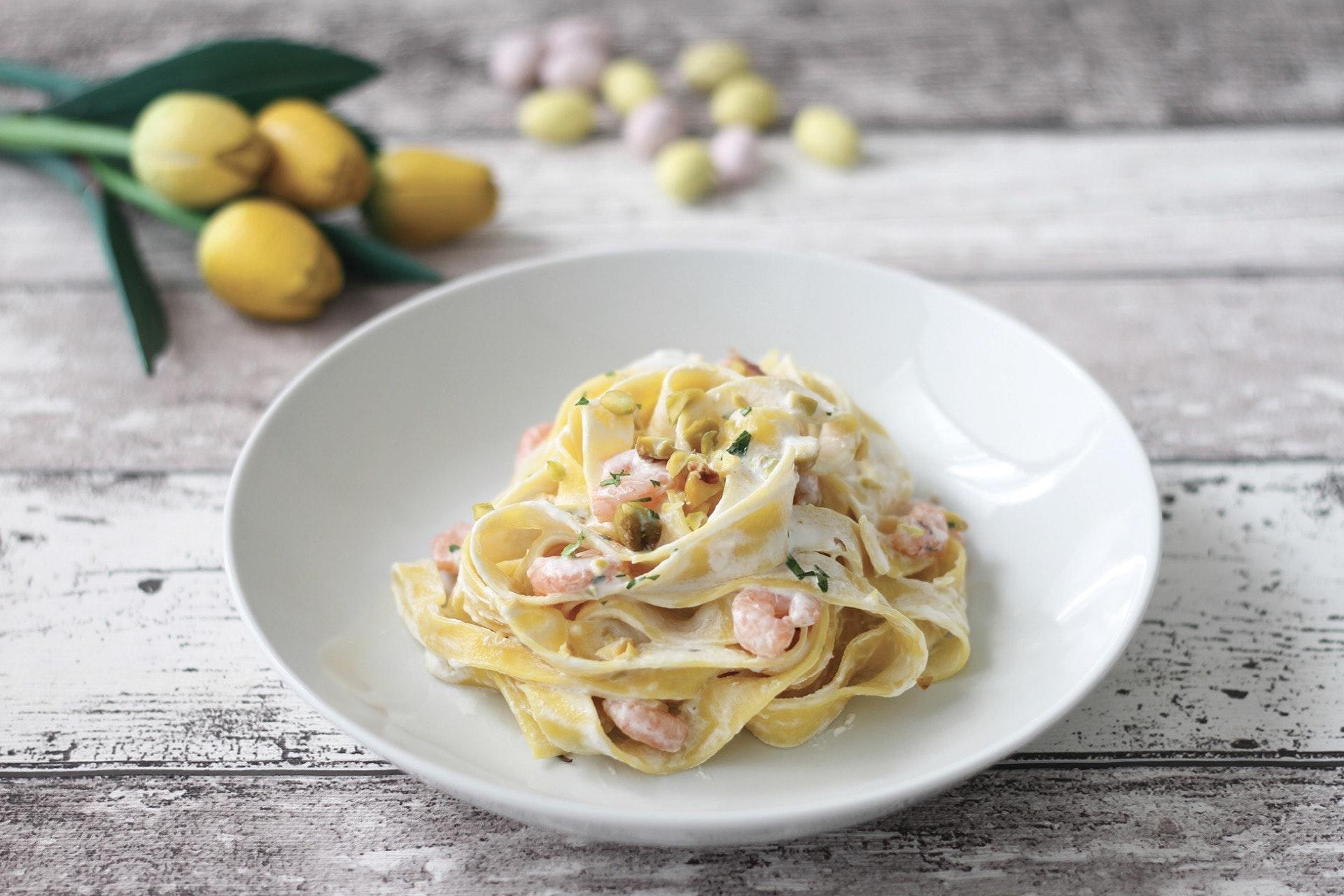 Fettuccine gamberetti e pistacchi - Parmalat