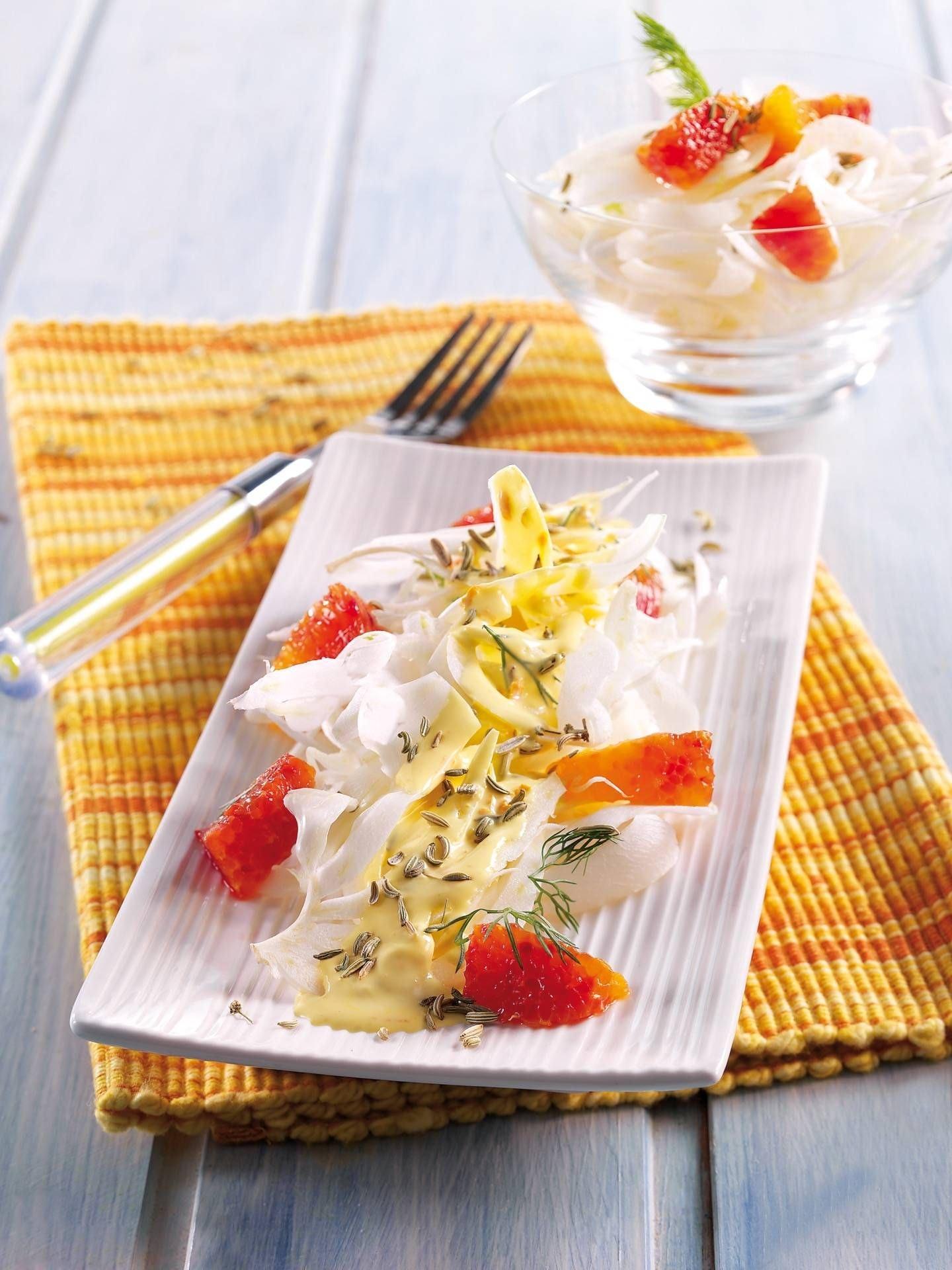 Finocchi a crudo con panna e agrumi - Parmalat