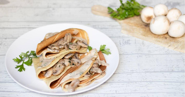 Crepes ai funghi - Parmalat