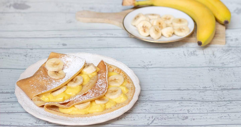 Crepes alla banana - Parmalat
