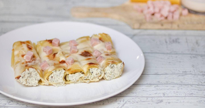 Cannelloni ricotta e prosciutto - Parmalat