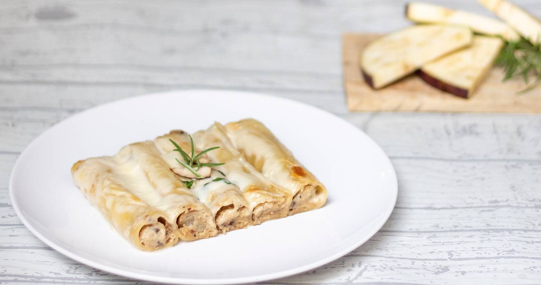 Cannelloni melanzane e mozzarella - Parmalat