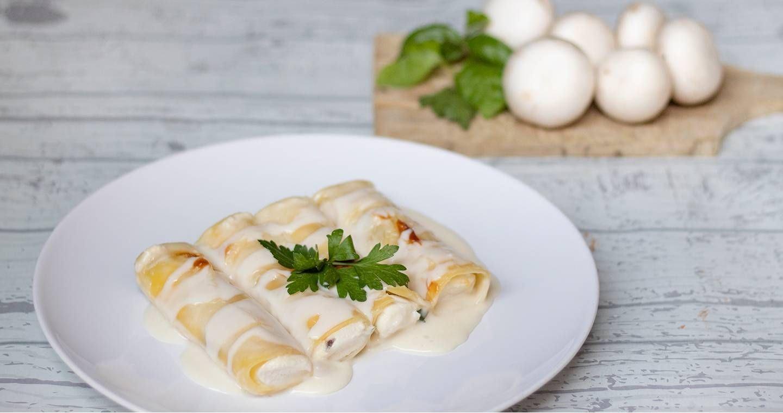 Cannelloni ricotta e funghi - Parmalat