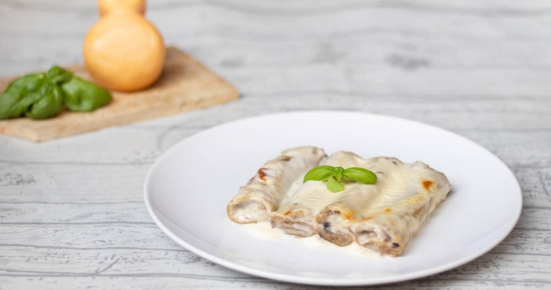 Cannelloni di melanzane e scamorza - Parmalat