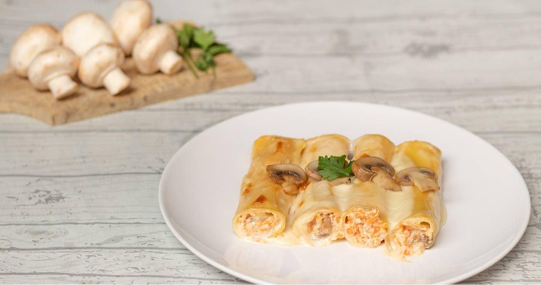 Cannelloni zucca e funghi - Parmalat