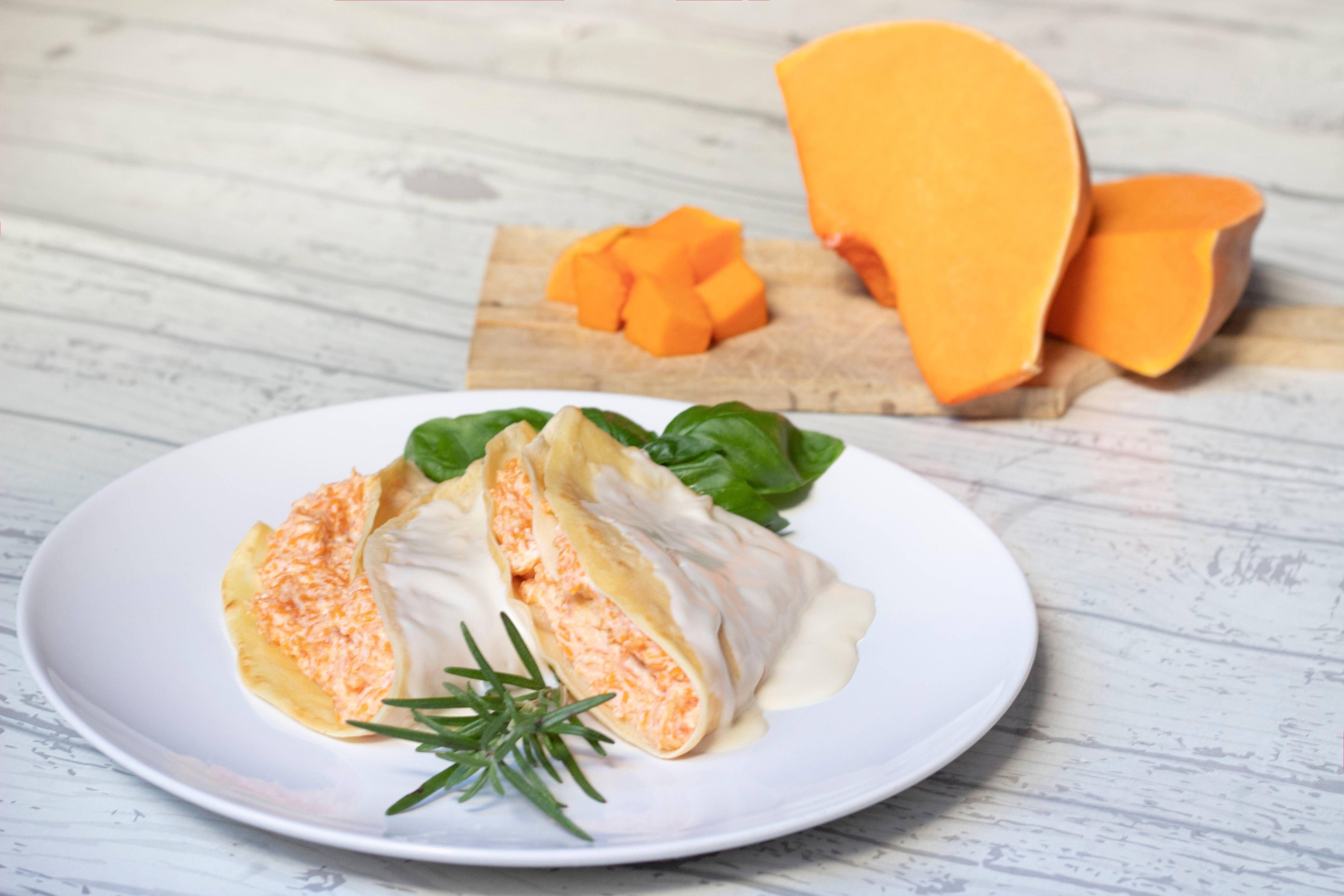 Crêpes alla zucca - Parmalat