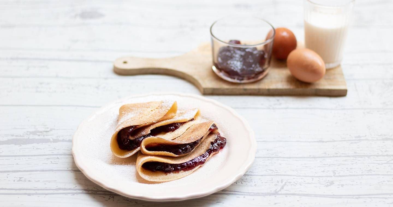 Crepes con marmellata - Parmalat