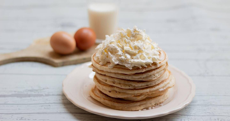 Pancake con farina di riso - Parmalat