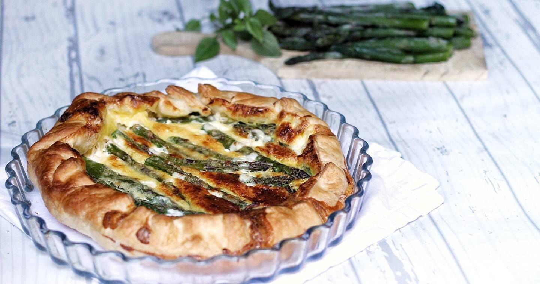 Torta salata agli asparagi - Parmalat