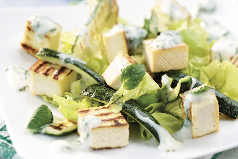Insalata di zucchine e tofu grigliati - Parmalat
