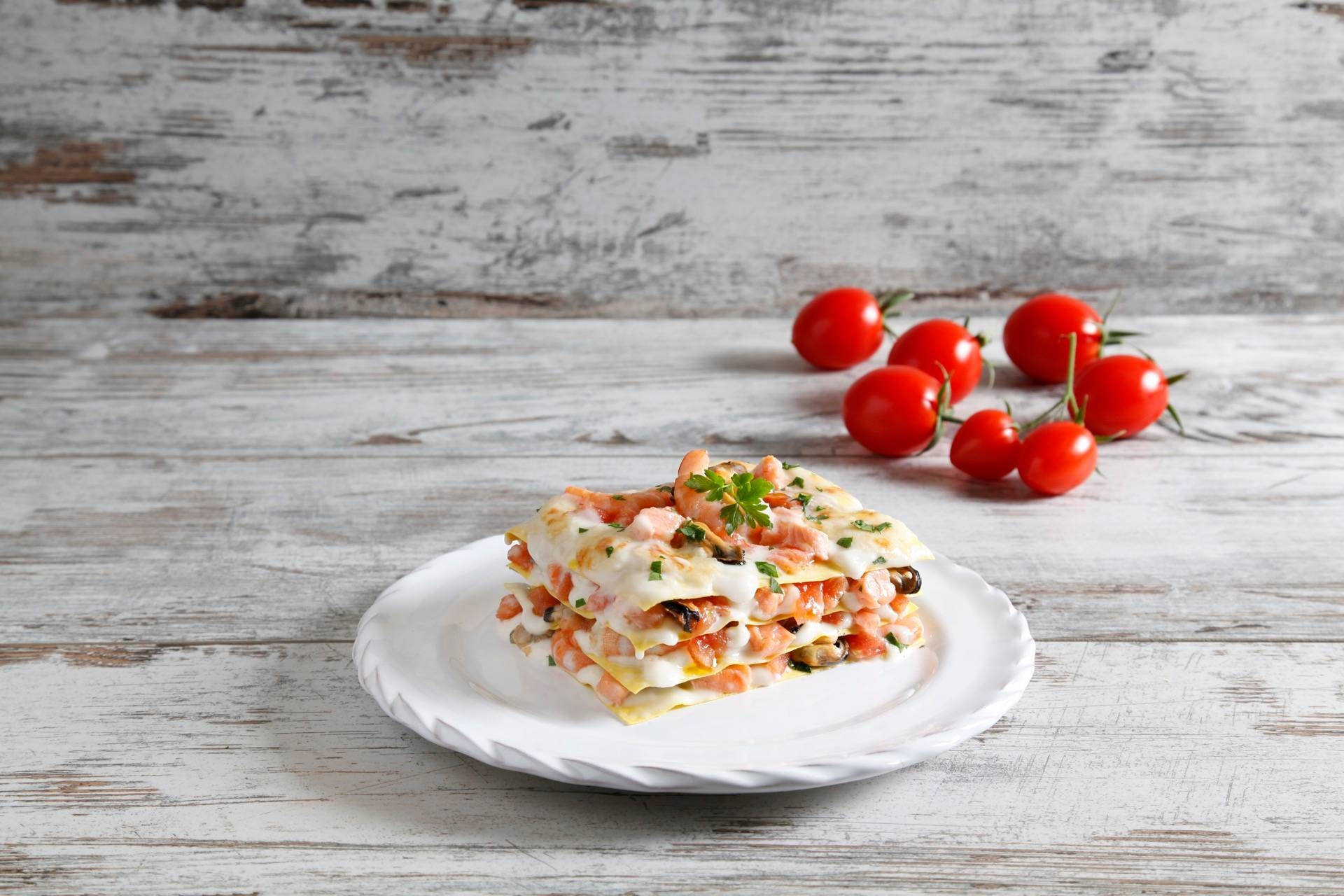 Lasagne con cozze e salmone - Parmalat
