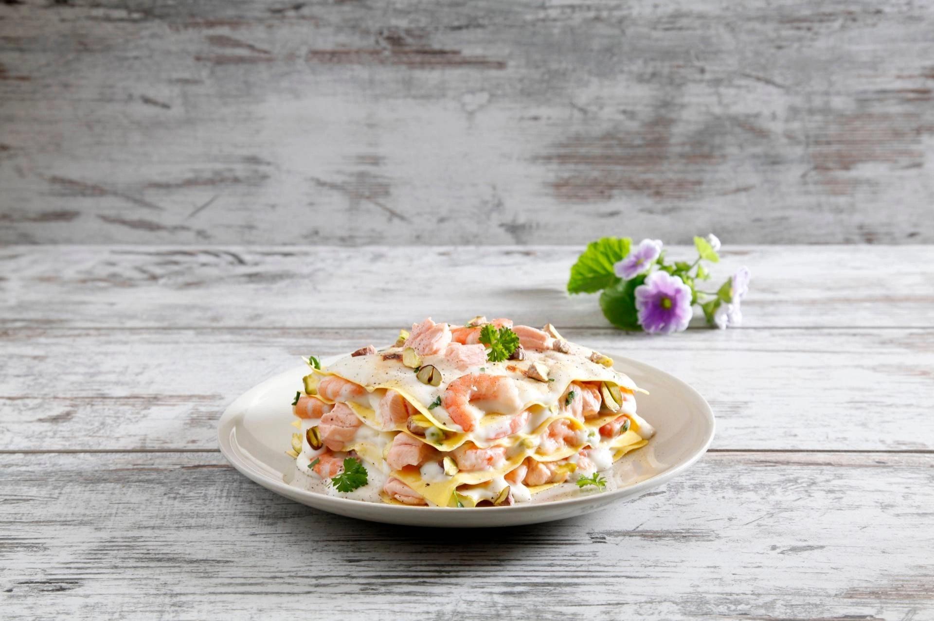 Lasagne Salmone e Pistacchi - Parmalat