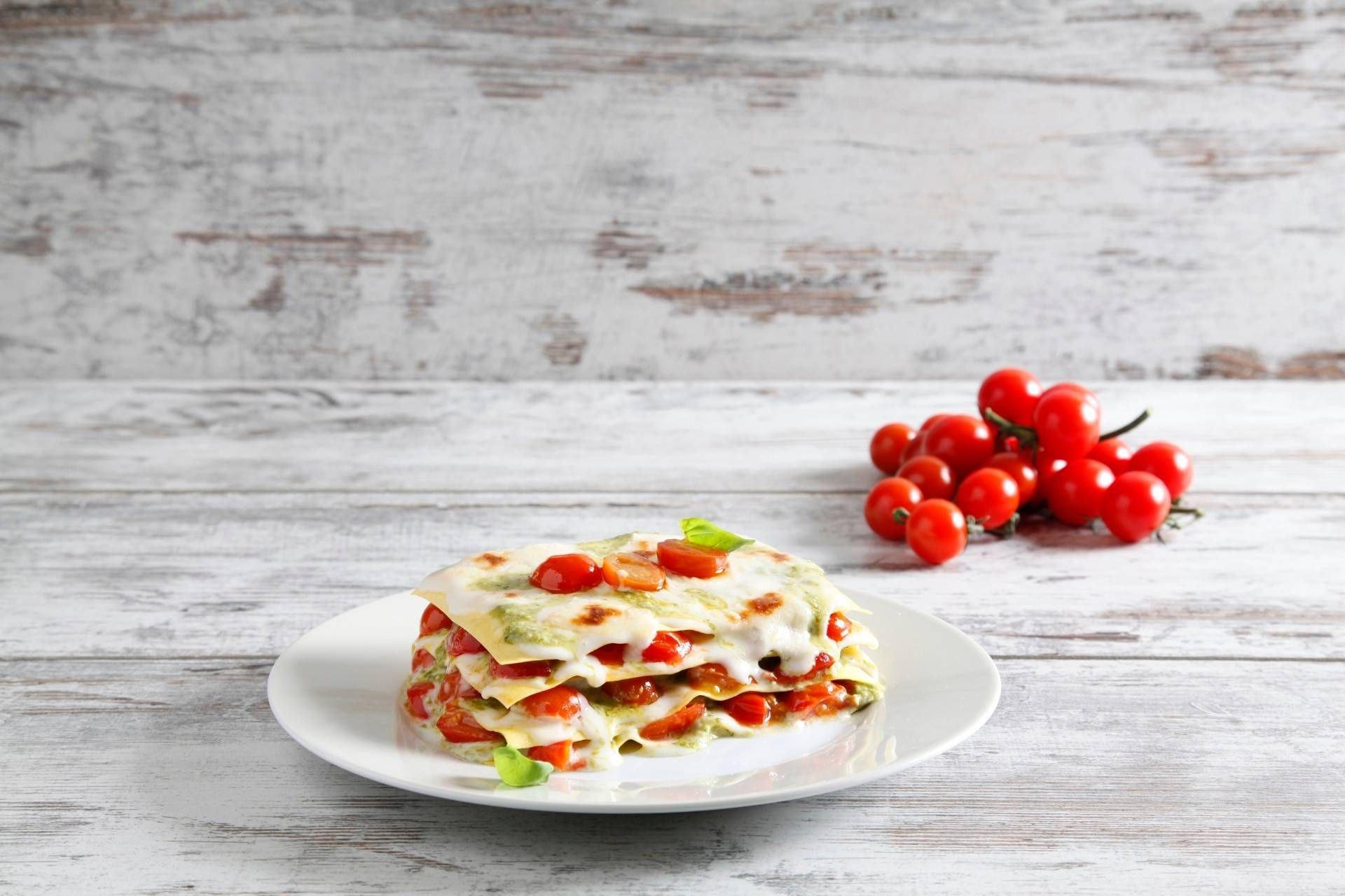 Lasagne pesto e pomodorini - Parmalat