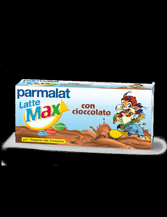 Latte Parmalat Max con cioccolato