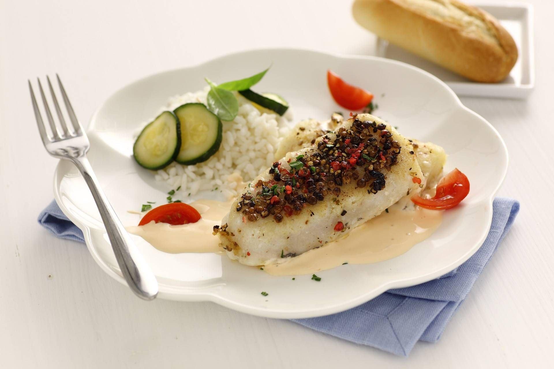 Merluzzo ai 3 pepi salmone e zucchine - Parmalat