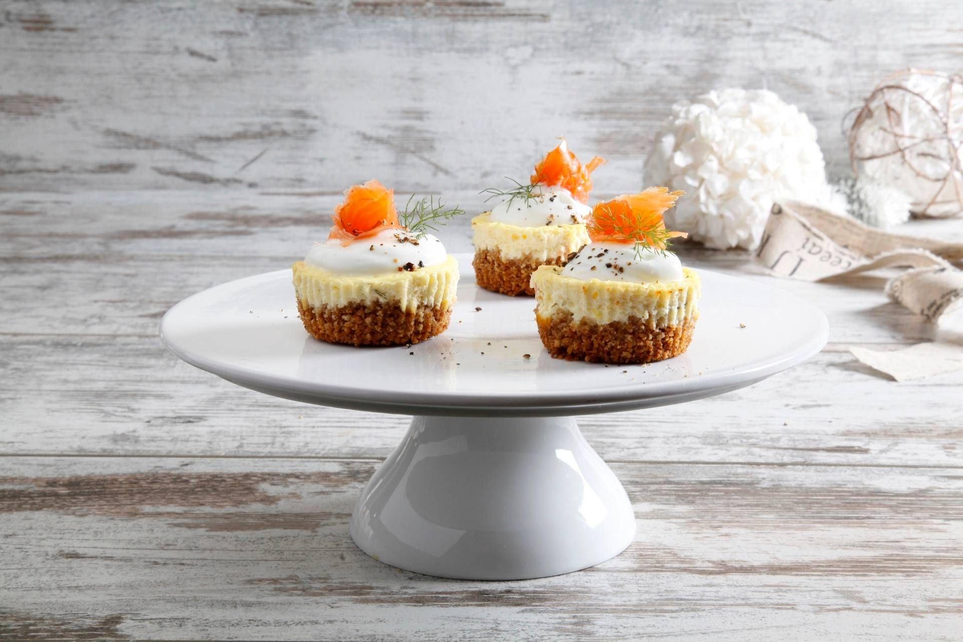 Mini cheesecake al salmone - Parmalat