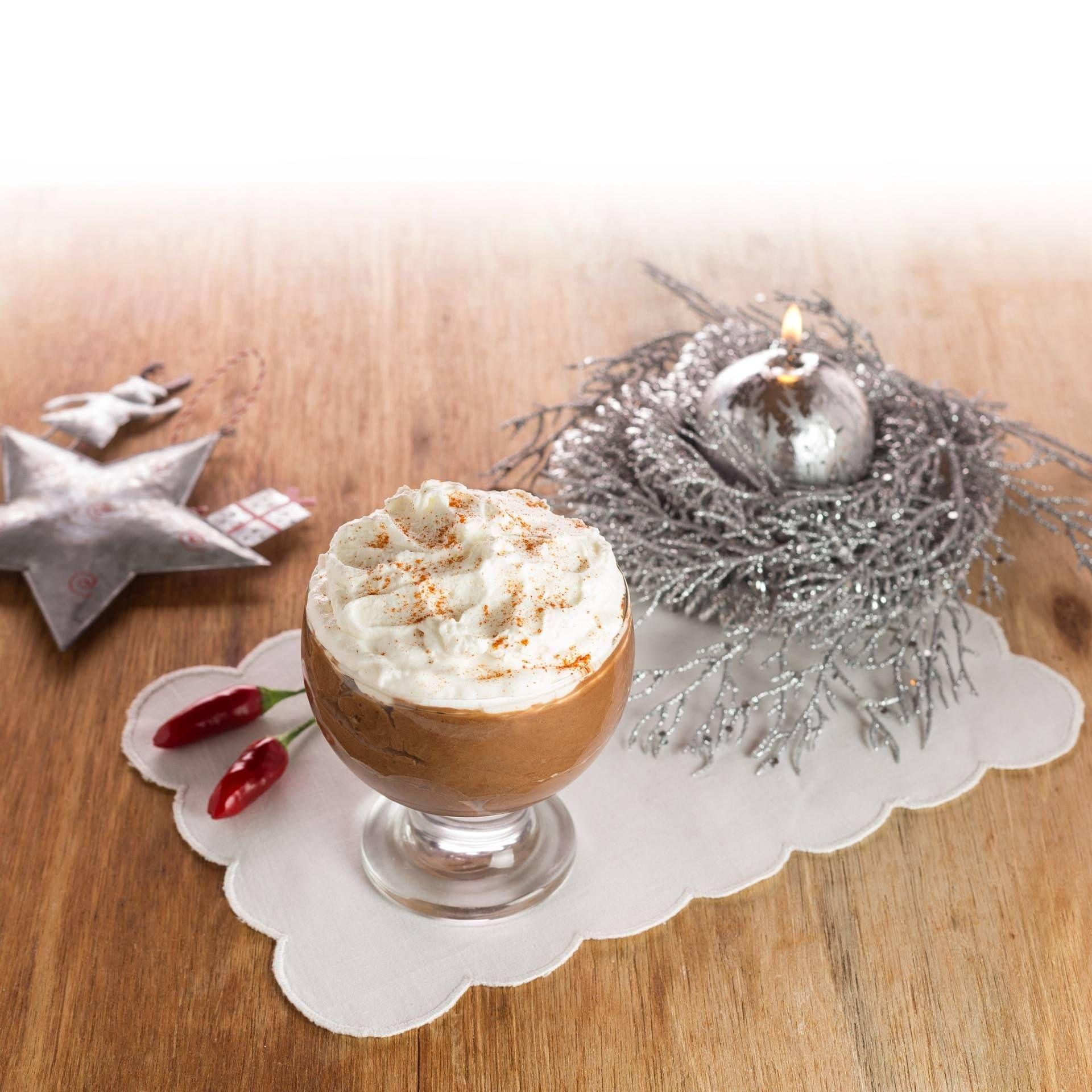 Mousse al cioccolato e peperoncino - Parmalat