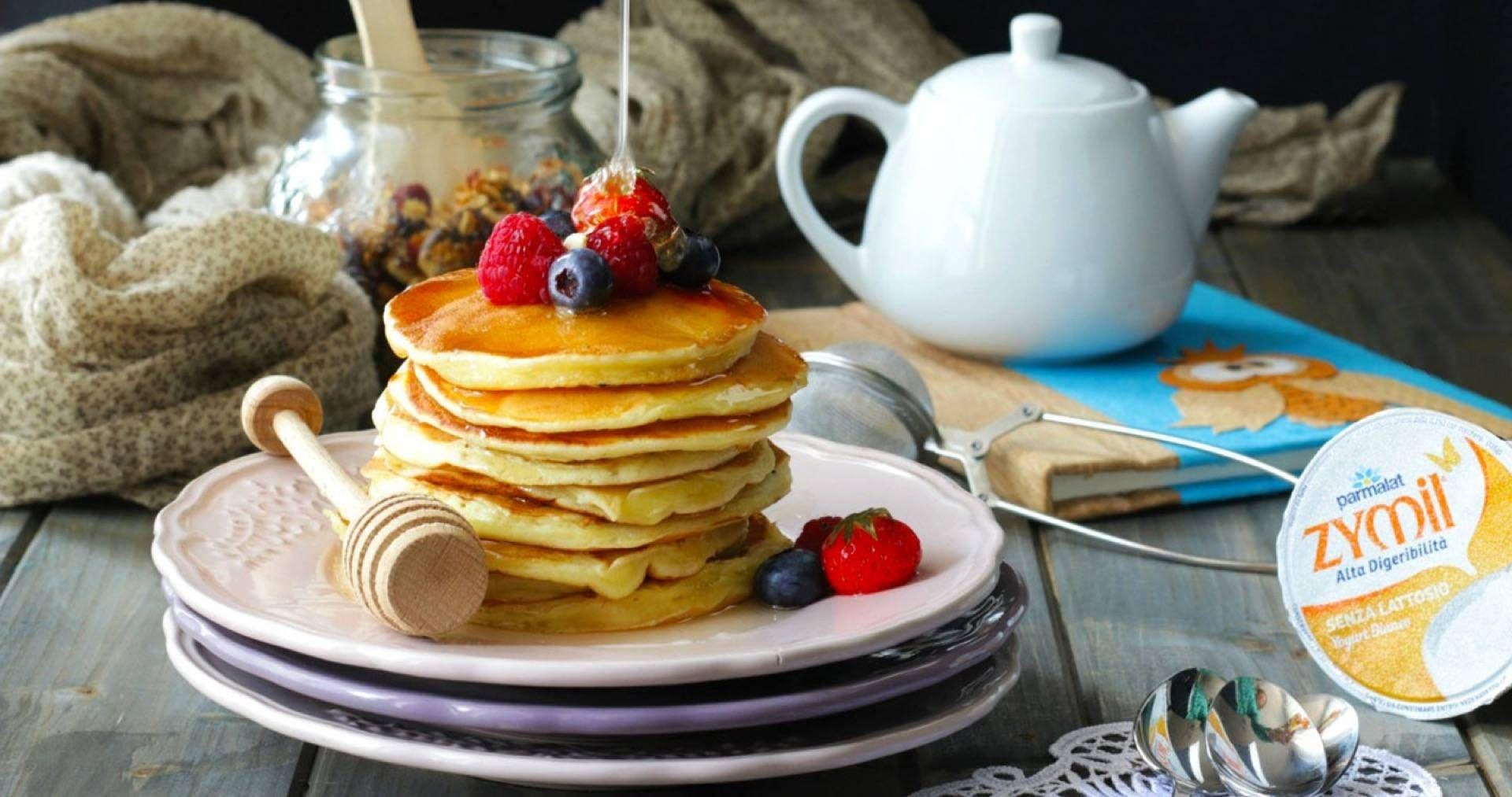 Pancakes allo yogurt - Parmalat