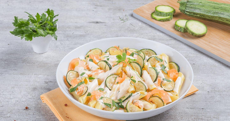Penne al salmone e zucchine - Parmalat