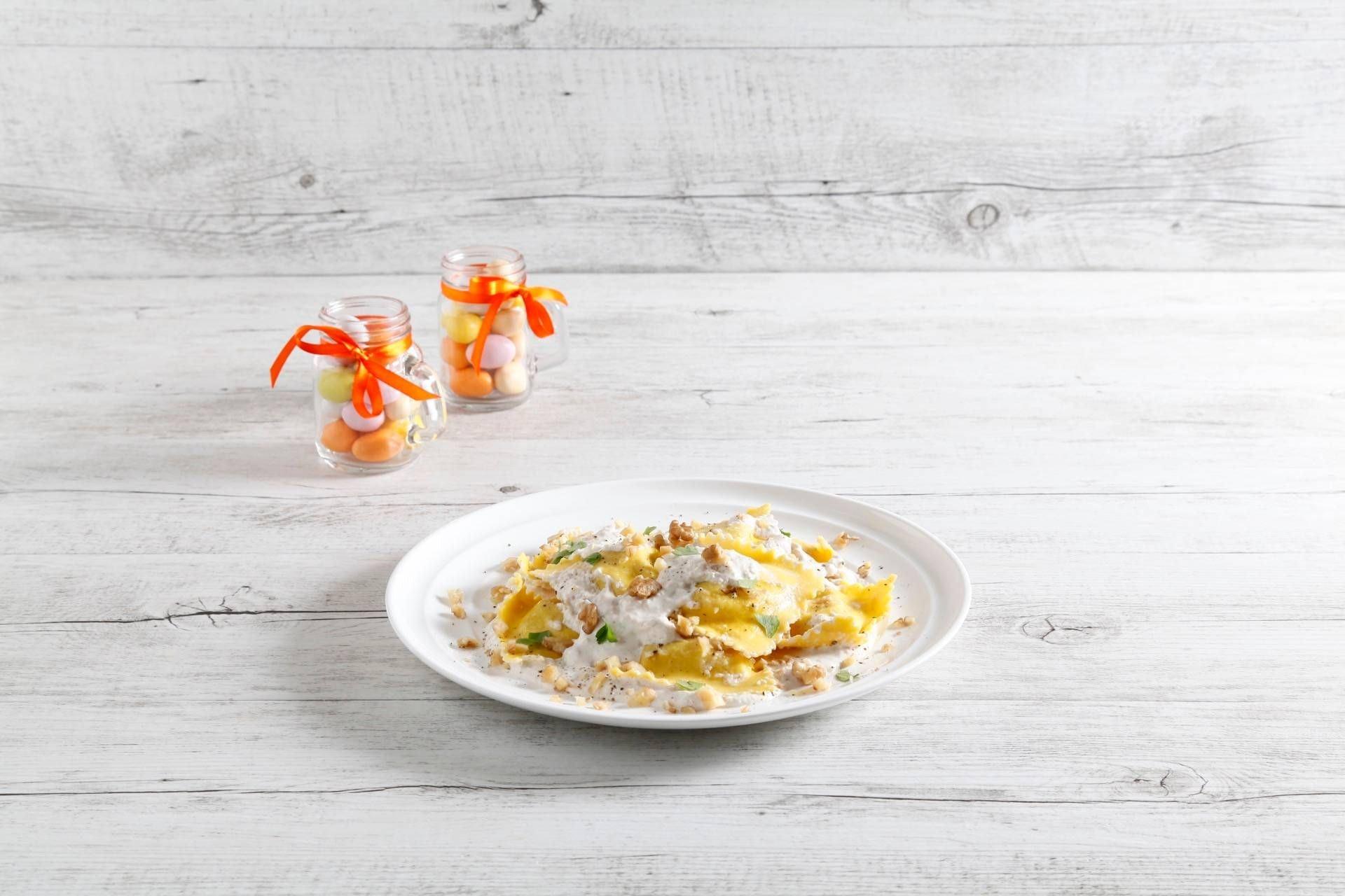 Ravioli di borragine con noci - Parmalat