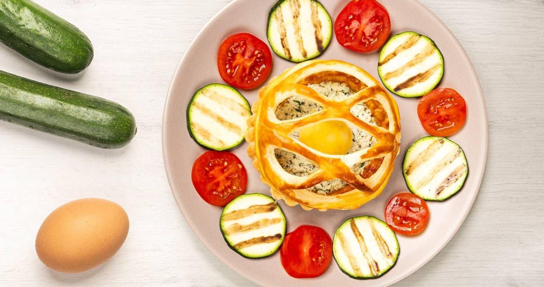Cestino croccante con uova e Chef Ripieno - Parmalat