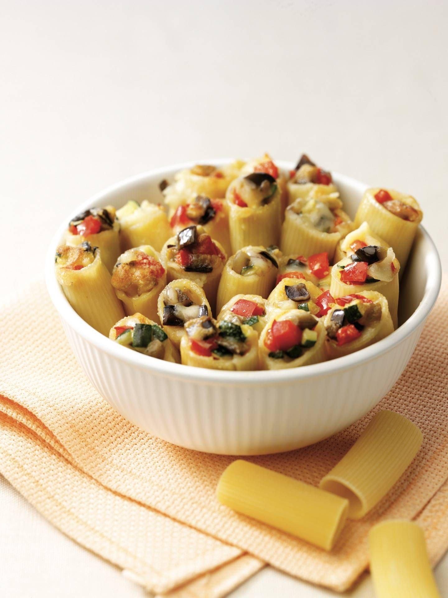 Rigatoni alle verdure e scamorza - Parmalat
