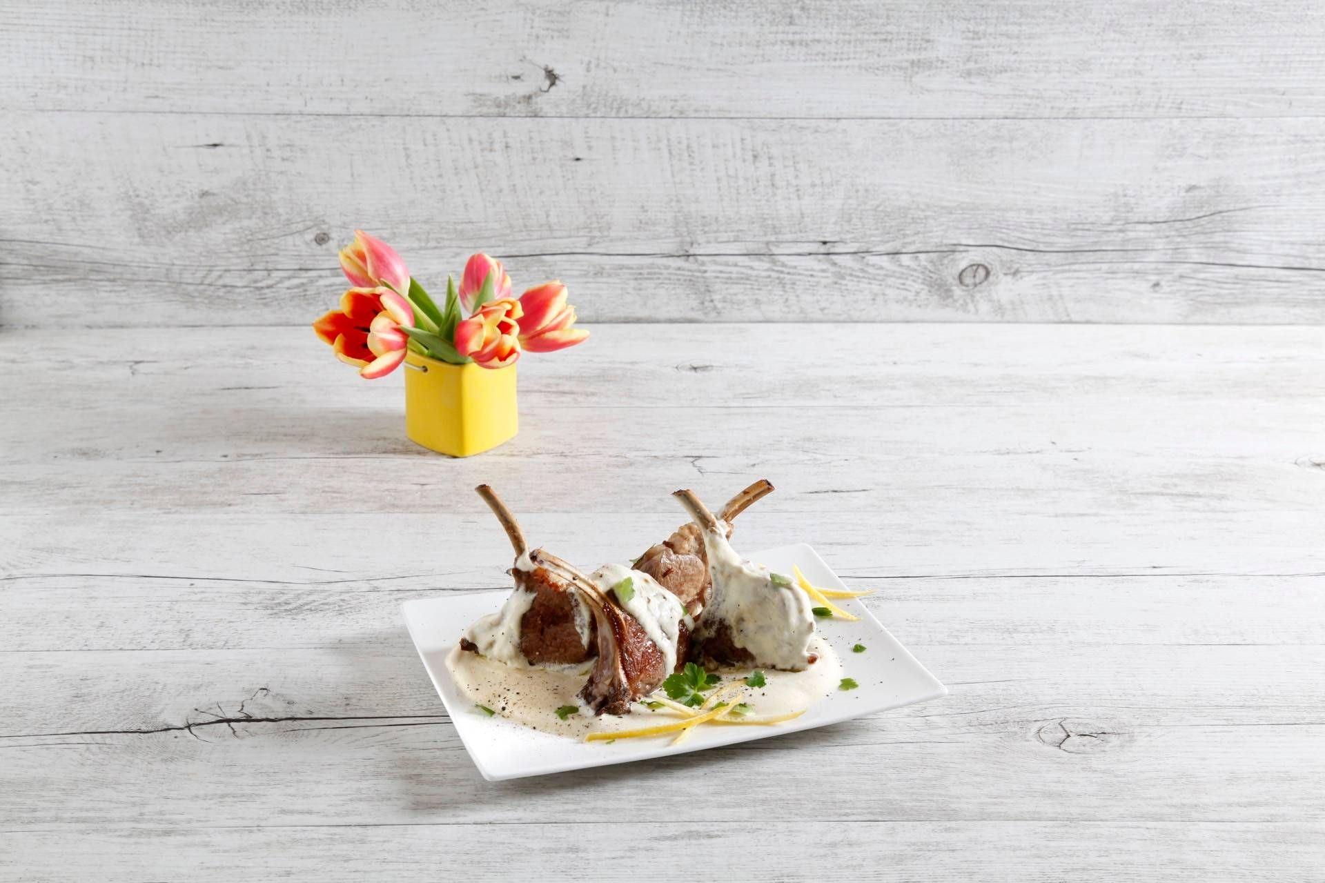 Scottadito di agnello con limone prezzemolo e menta - Parmalat