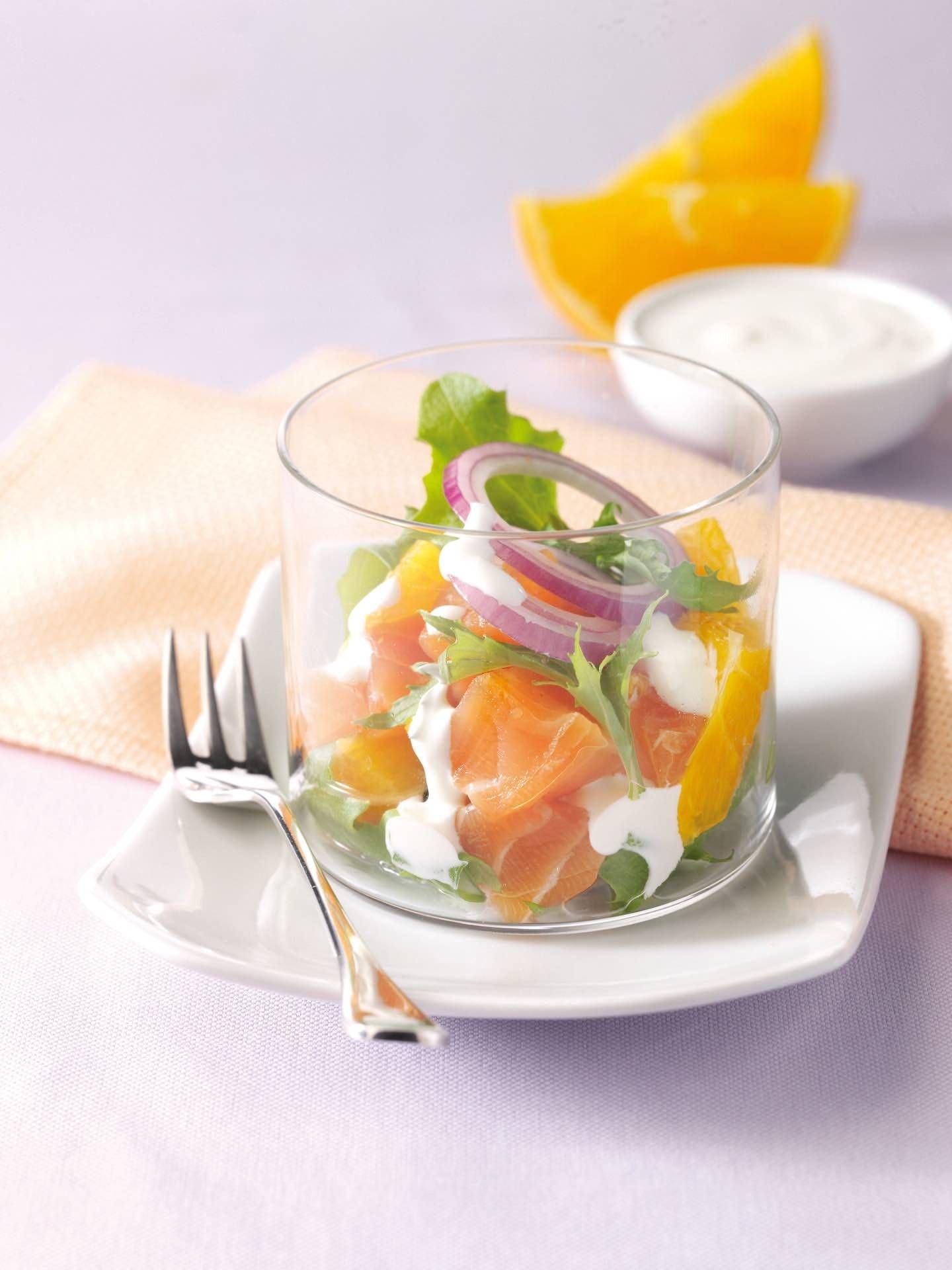 Salmone marinato agli agrumi - Parmalat
