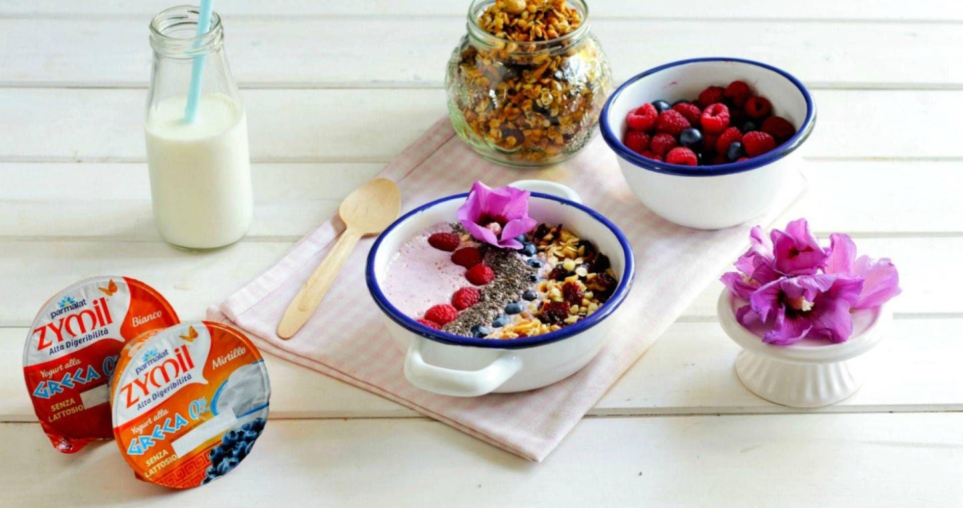 Smoothie bowl ricetta - Parmalat