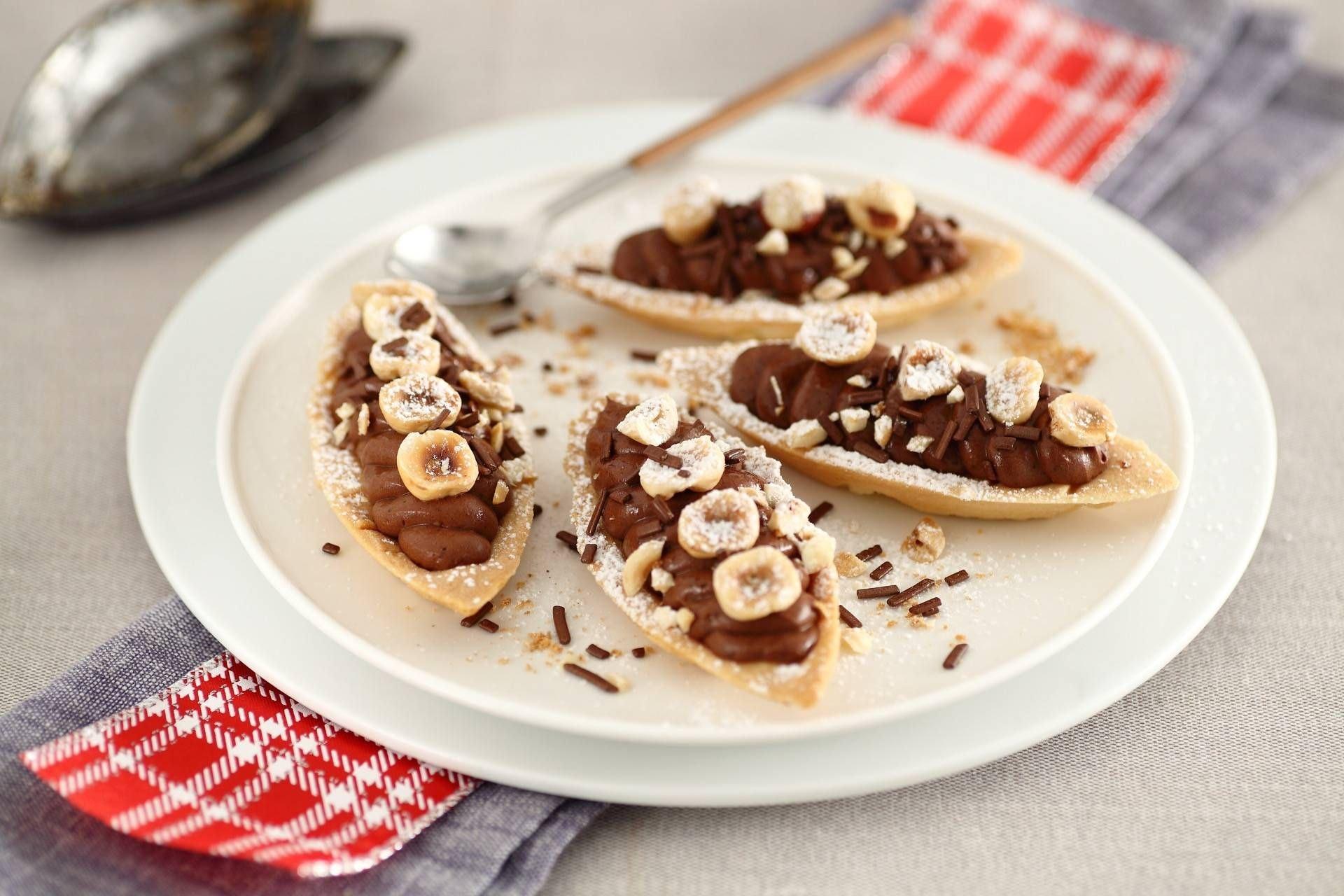 Tartellette al cioccolato e nocciole - Parmalat