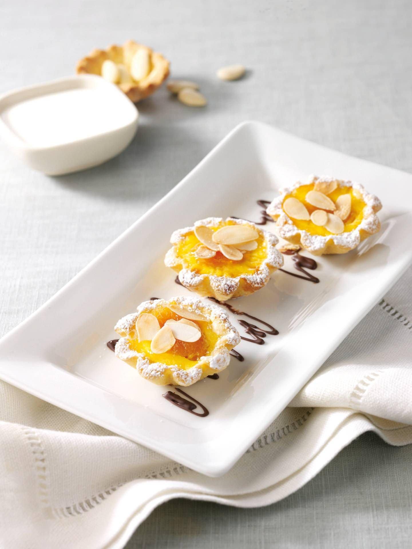 Tartellette alle albicocche e mandorle - Parmalat