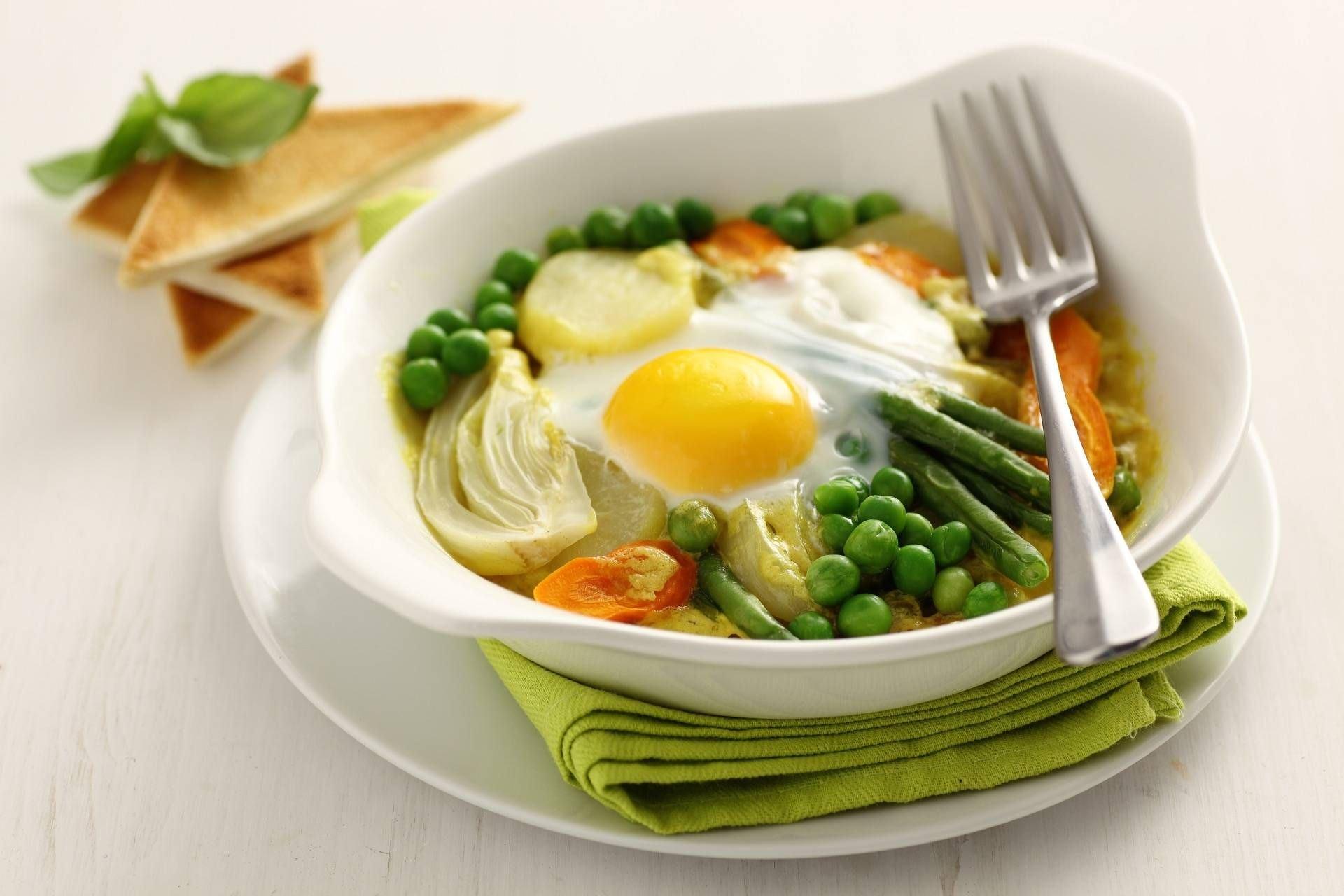 Tegamino di verdure con l'uovo - Parmalat