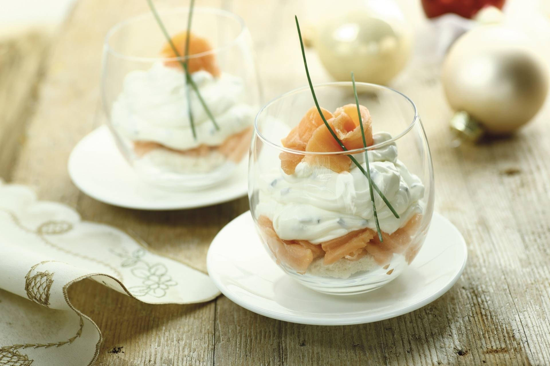 Tiramisù salato ai due salmoni - Parmalat