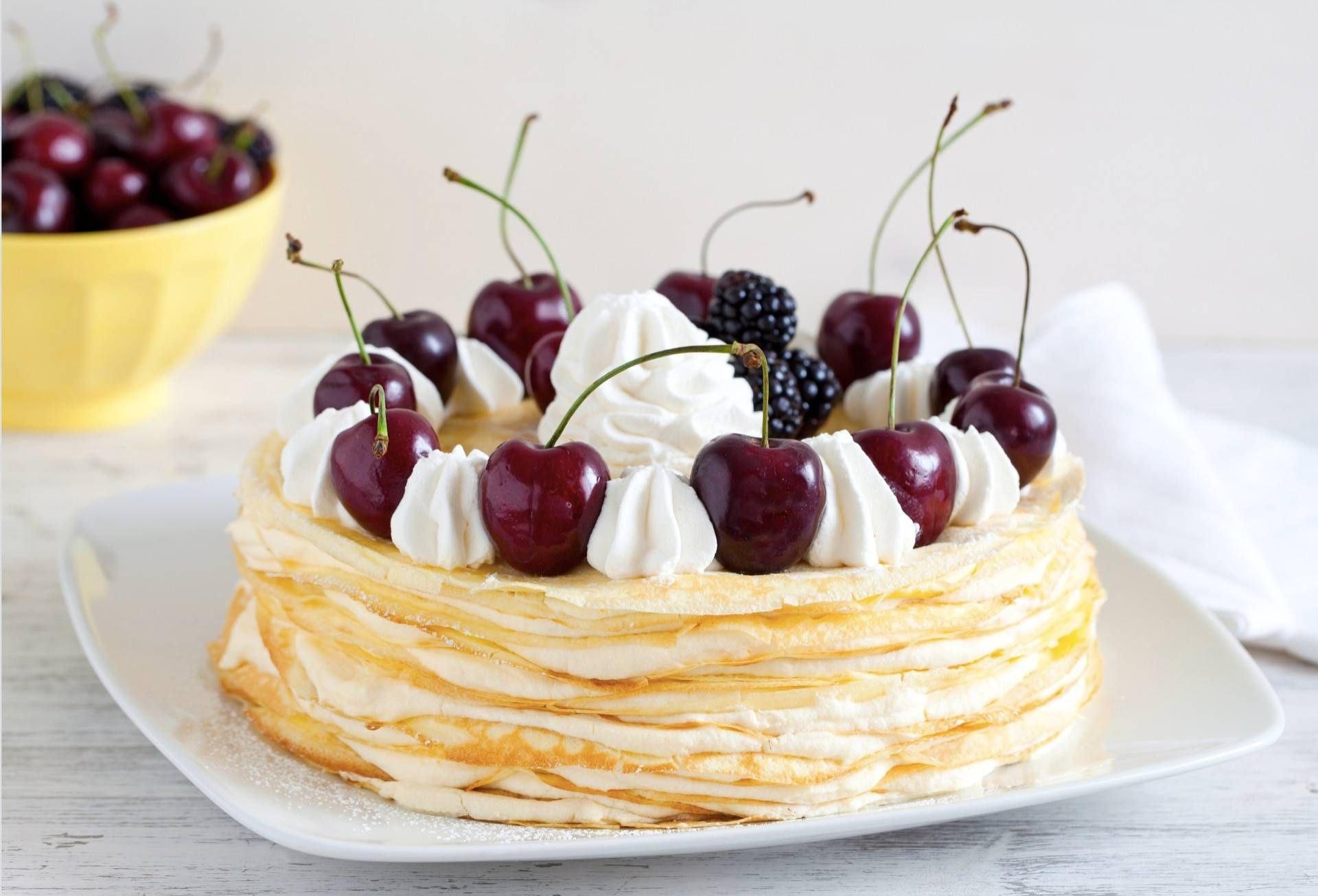 Torta di crêpes - Parmalat