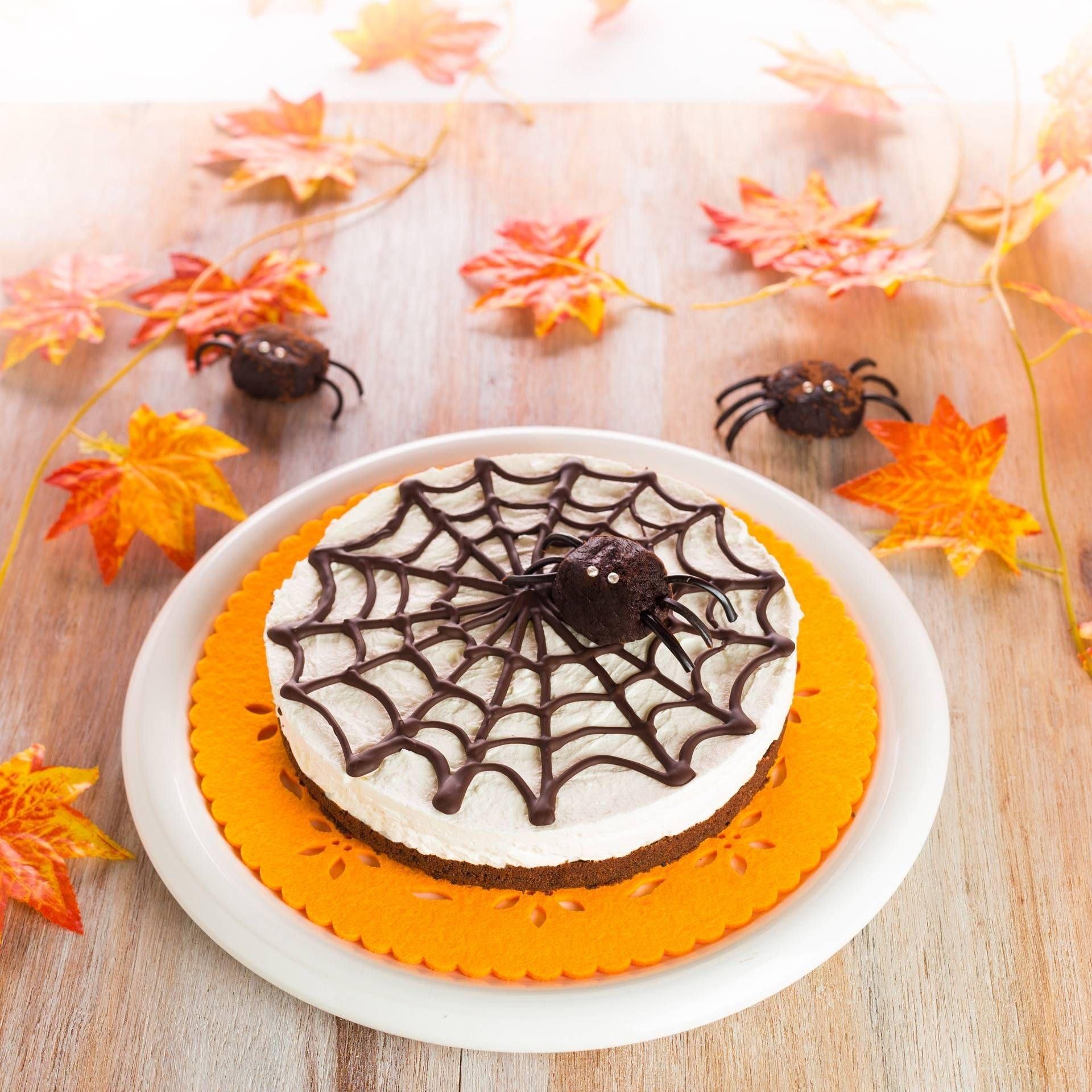 Torta ragnatela per Halloween - Parmalat