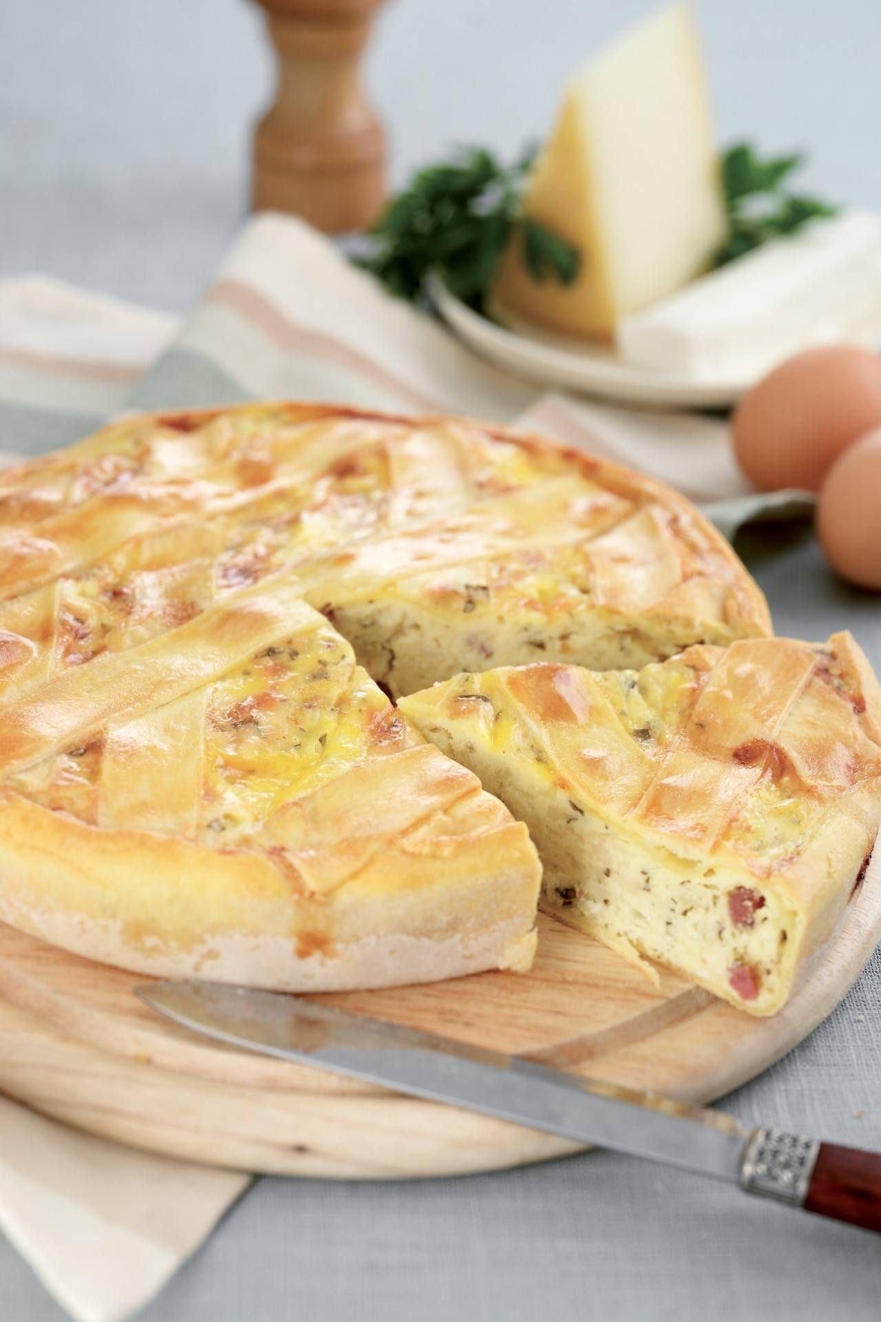 Torta rustica con ricotta e salame - Parmalat