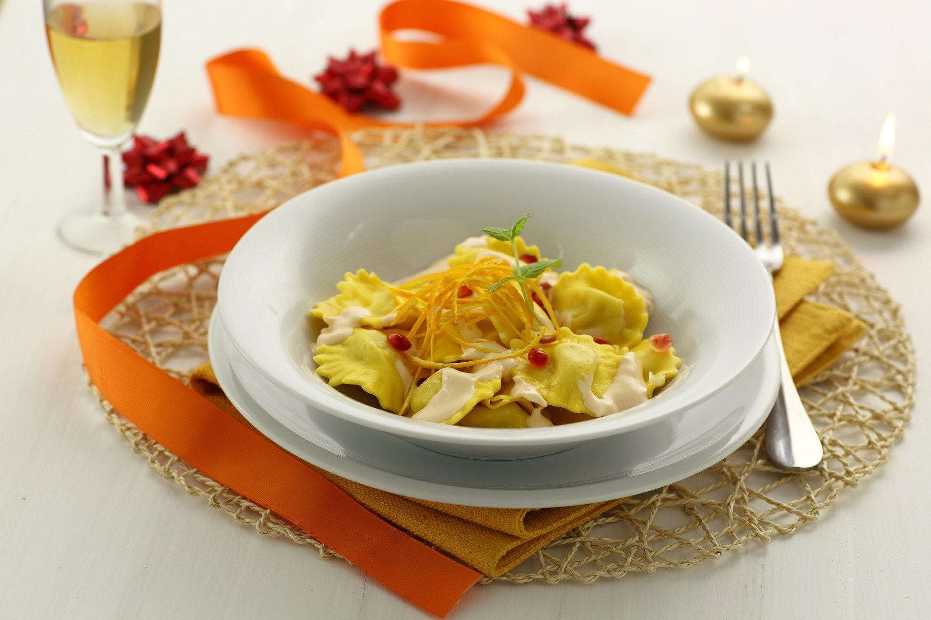 Tortelli ricotta, salmone e arancia - Parmalat