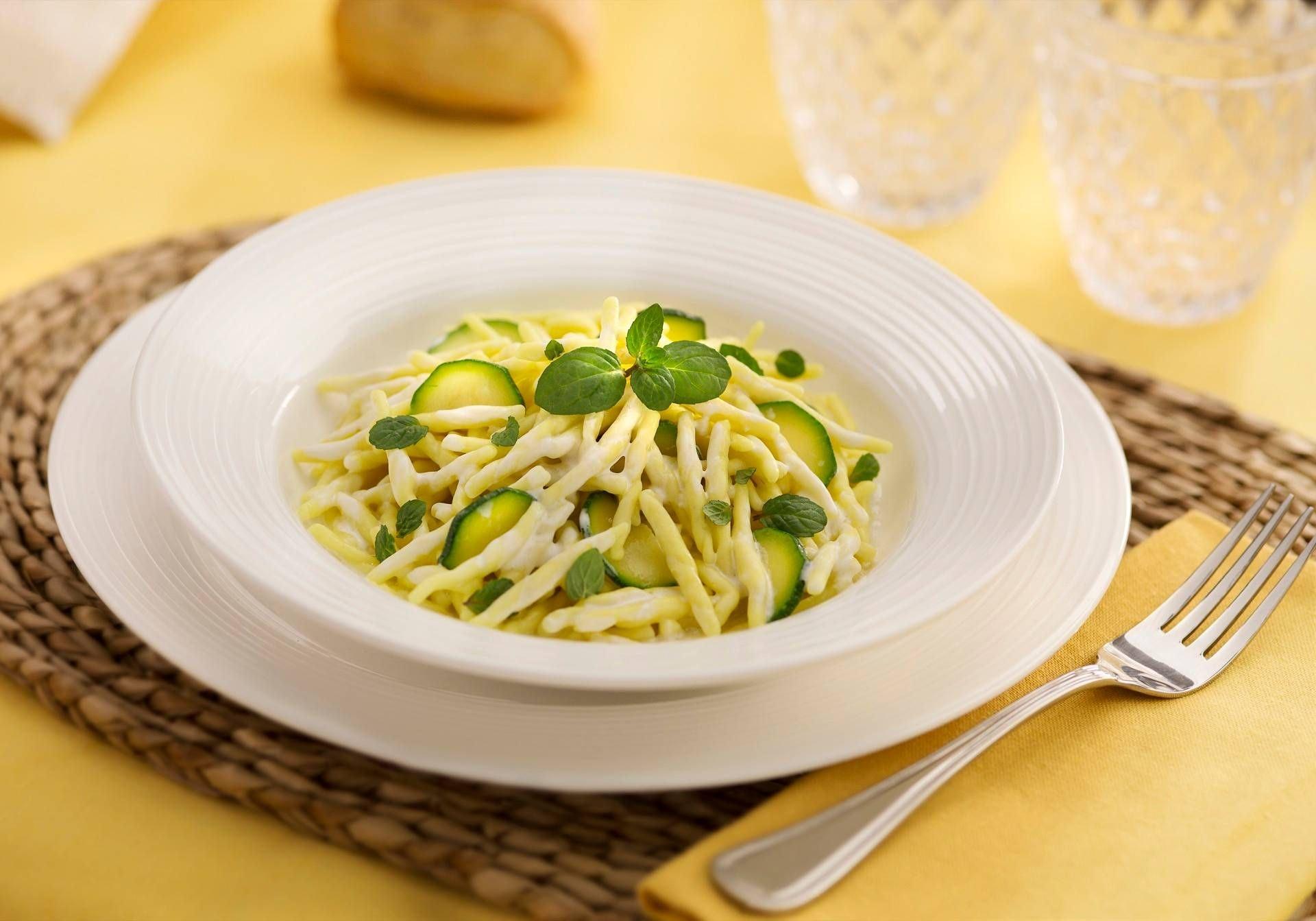 Pasta panna e zucchine - Parmalat