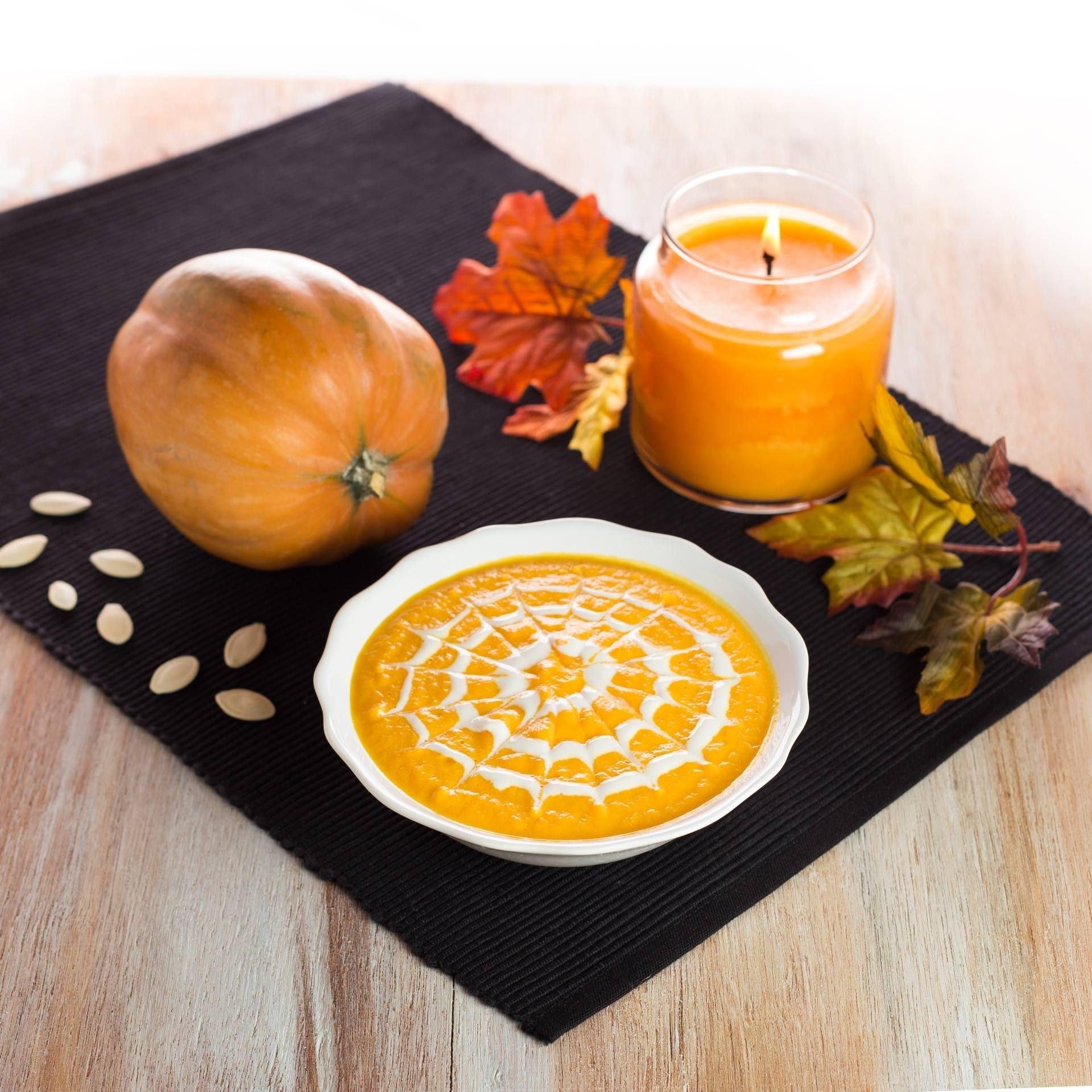 Vellutata di zucca per Halloween - Parmalat