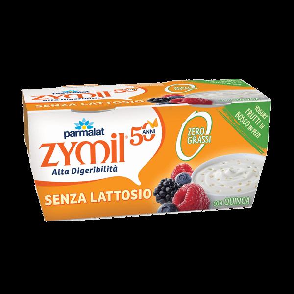 Yogurt Zymil Zero Grassi Frutti di bosco e Quinoa
