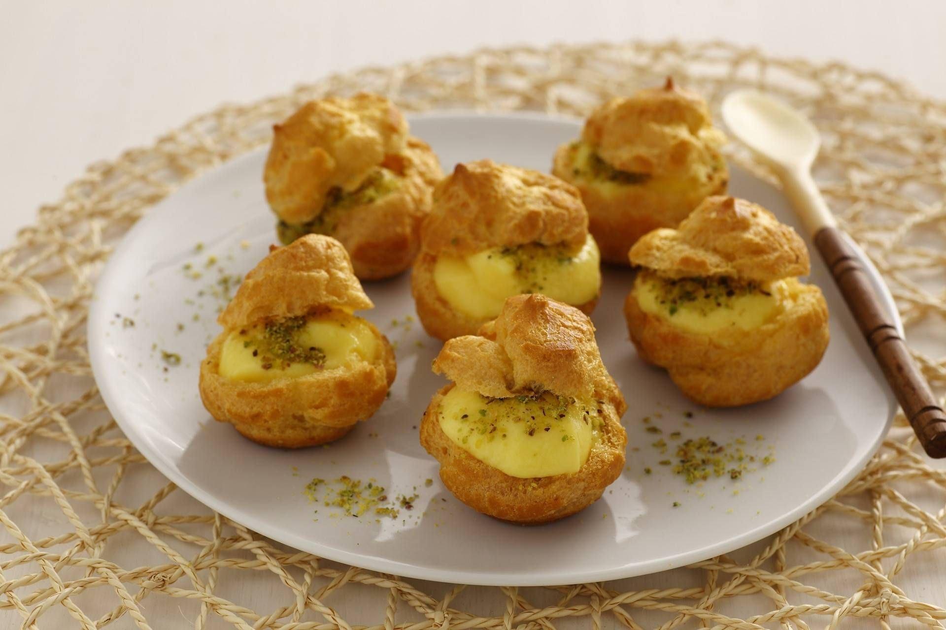 Bignè al pistacchio - Parmalat
